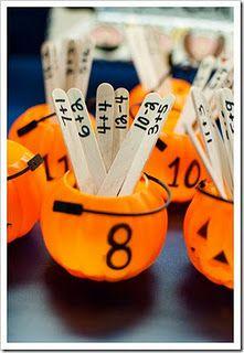 Halloween Math - Pumpkin Addition Sort!