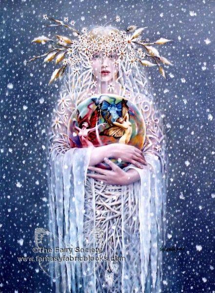 """Sheila Wolk Art   Frost Bearer"""" Sheila Wolk   art"""