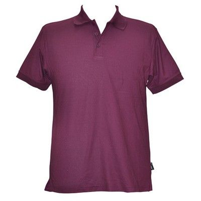 Solid Colour Pique Mens CoolDry Polo Min 25 - 170gsm TrueDry Pique knit 60% Cotton, 40% Cooldry Polyester. #PoloShirts  #PromotionalProducts  #PromotionalPoloShirt  #CooldryPoloShirts #LadiesPoloShirt