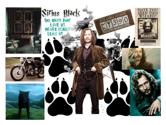"""Sirius Black"" by emily-dickson-1 ❤ liked on Polyvore featuring art"