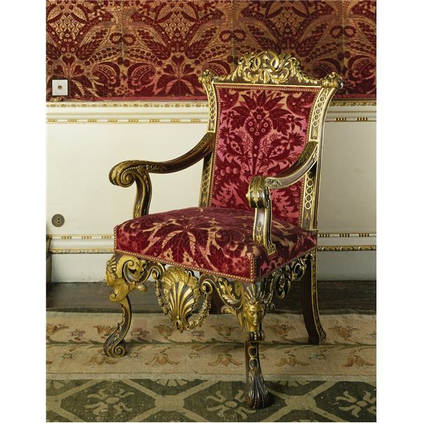 Chair Rail Kent Part - 39: William Kent Chair For The Saloon, Houghton Hall | PALLADIANISM