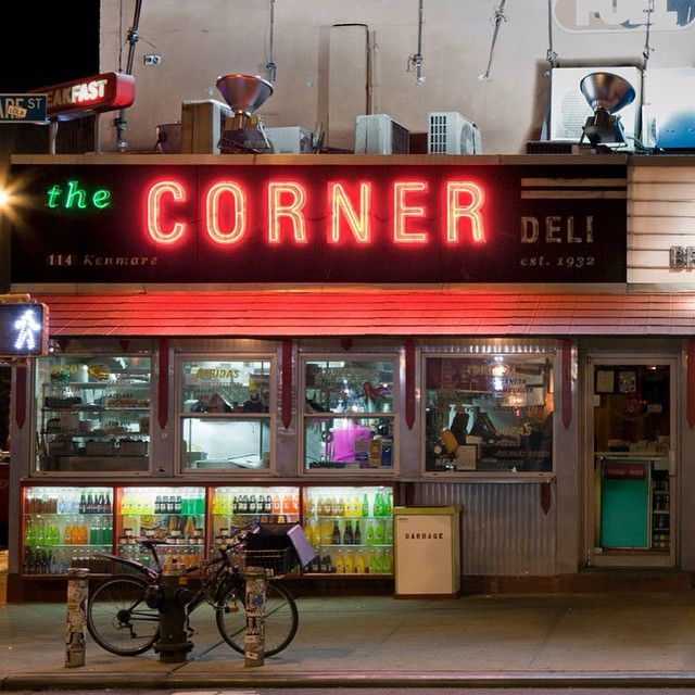 """The Corner Deli aka La Esquina on Kenmare Street is known for its innovative #Mexican street #food. In addition to this #cafe with outdoor seating in the warmer months there is a """"secret"""" underground restaurant which you enter through an employee's door.  (via @jamesandkarla)"""