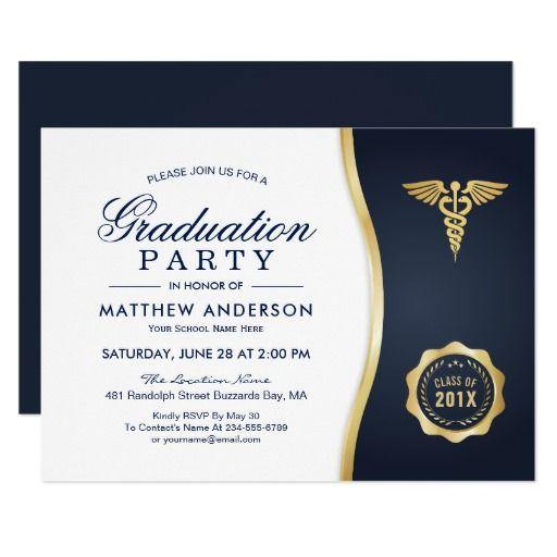 132 best nursing school graduation invitations images on Pinterest