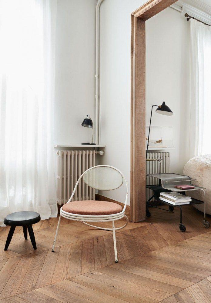 A dusty pink chair | COCO LAPINE DESIGN | Bloglovin'