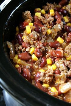 Firehouse Sausage Chili (maybe mix sausage with ground beef instead of all sausage so it's not to spicy for the kids)