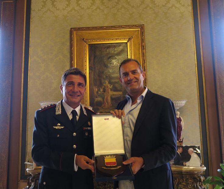 Napoli, il Sindaco de Magistris incontra il nuovo Comandante provinciale dei…