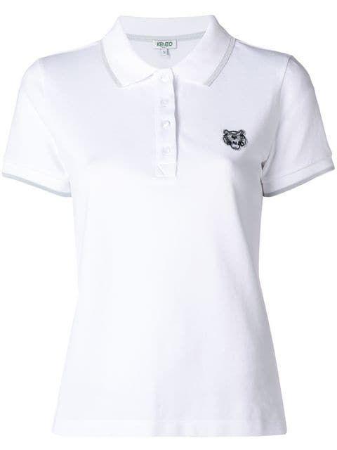 Kenzo Camisa Polo  Tigre    Roupas Femininas (Women s Clothing ... d3103496e29