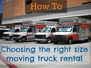 Don't end up with a moving truck that is too small! Here is how to choose the right size moving truck rental: http://movinginsider.com/2013/01/14/truck-rental-siz/# #movinginsider