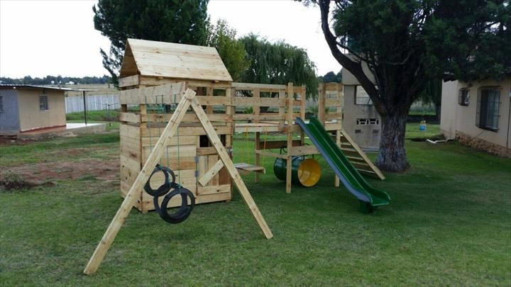 17 best images about outdoor inspiration on pinterest for Wooden jungle gym plans
