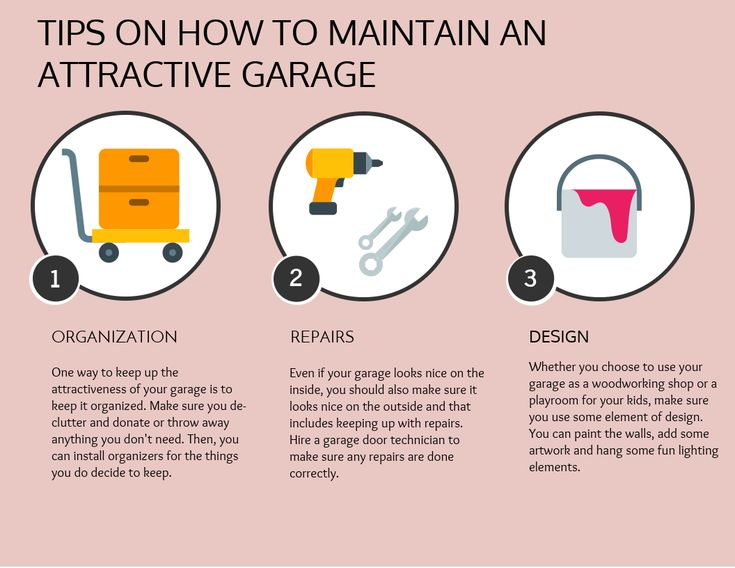 Tips on How to Maintain an Attractive Garage | Precision Garage Doors