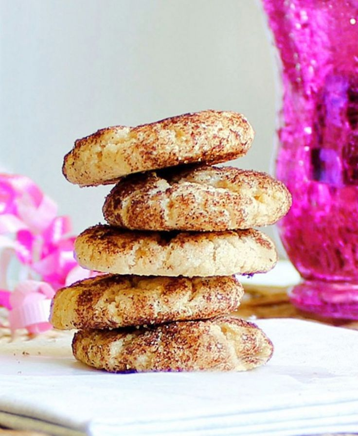 healthy snickerdoodles that are low calorie and whole wheat