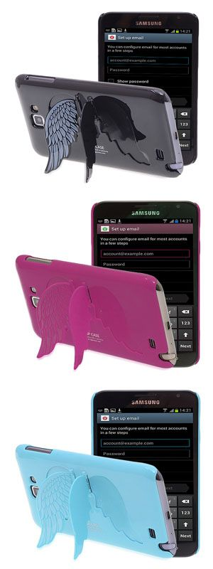 Samsung Galaxy Note Case - Angel Wings