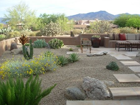 Genial Use Native And Seasonal Plants In Your Landscape That Makes Your Place  Beautiful And Evergreen In · Desert Landscape BackyardDesert ...