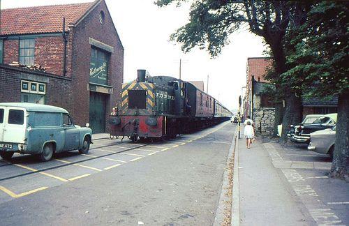 Weymouth Boat Train 1966
