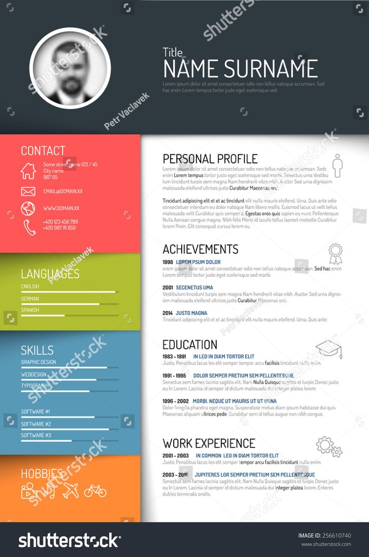 Beautiful Resume template