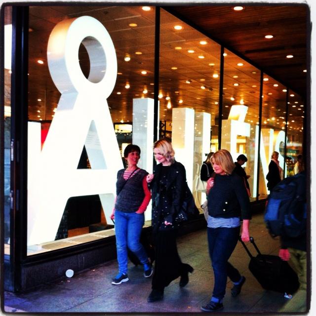 Shopping at Åhlens