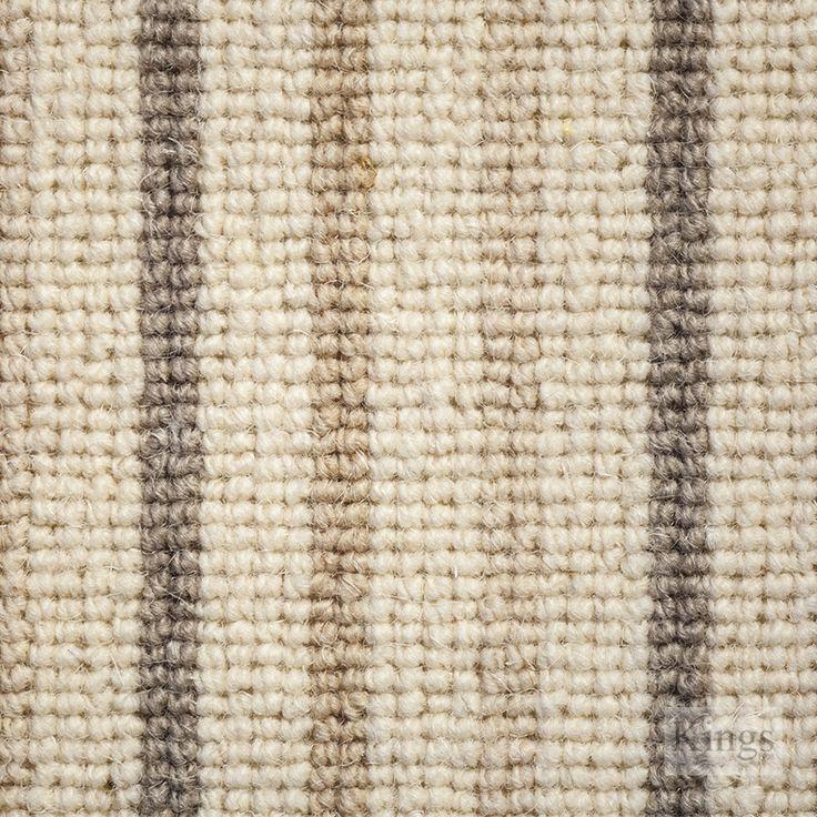 Victoria #Carpets Natural Co Ordinates Stripe www.kingsinteriors.co.uk/flooring/striped-carpet
