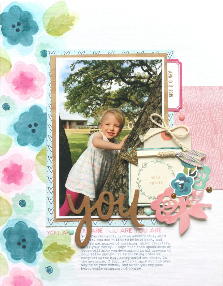 TUESDAY TUTORIAL | Jot Girl Meghann shares a fun water colour stamped video tutorial on the Jot Blog.