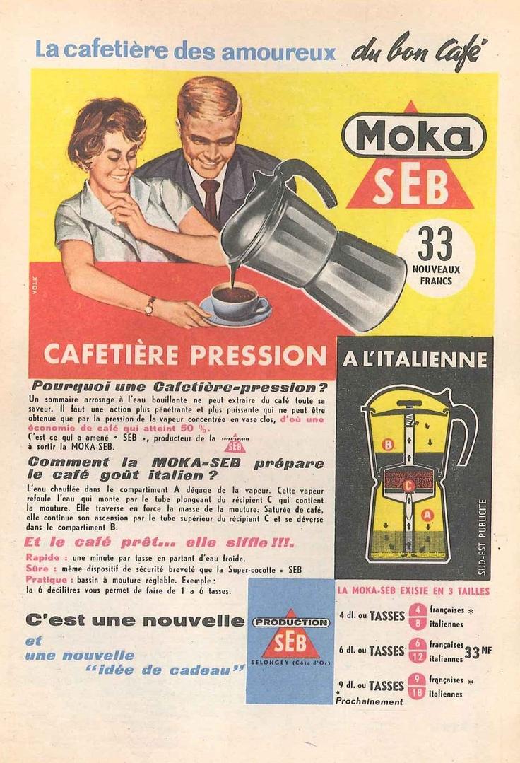 Cafetière-pression Moka-Seb - Constellation, novembre 1959