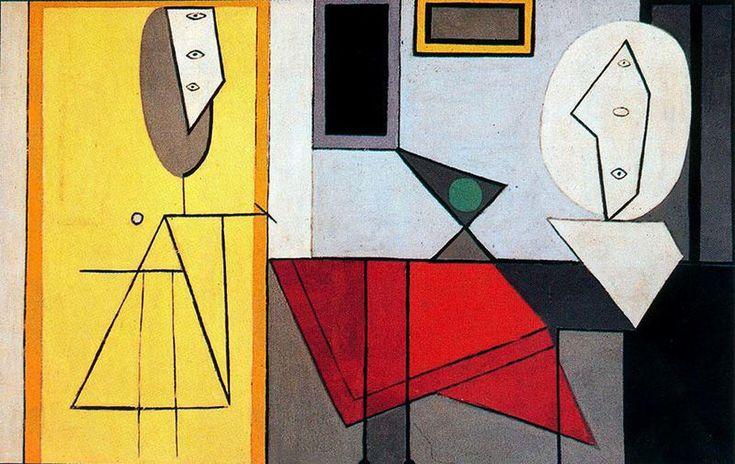 'studio', öl auf leinwand von Pablo Picasso (1881-1973, Spain)