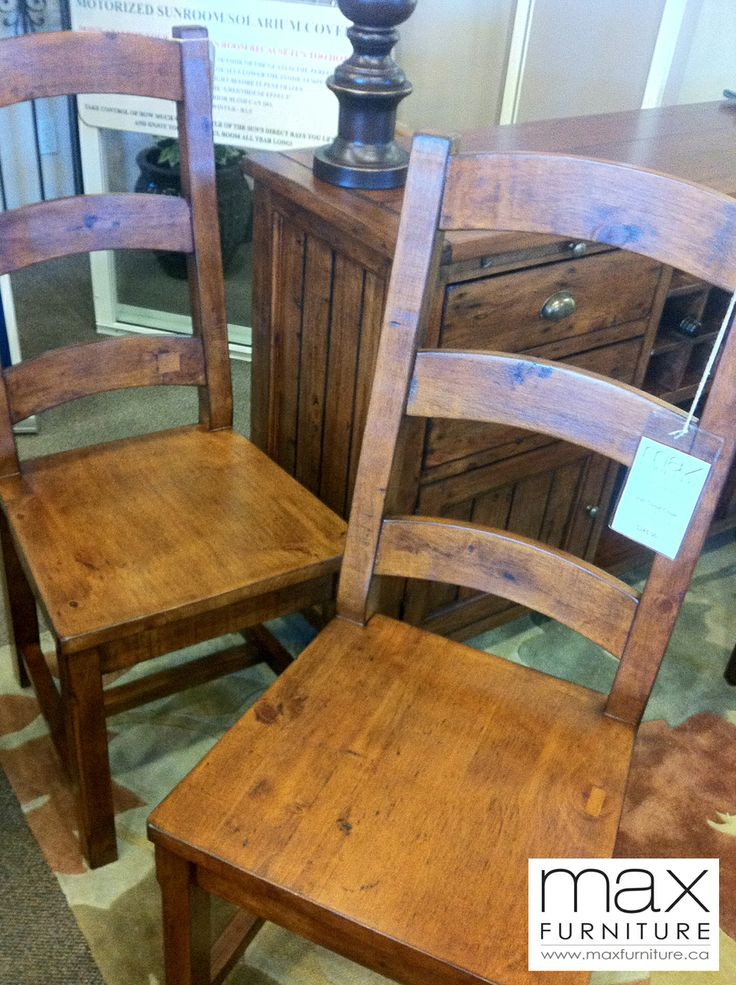 Irish Coast Ladder Back Chairs  Reclaimed Rustic Wood  Max Furniture  Victoria