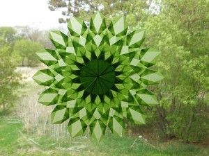 Green Window Star
