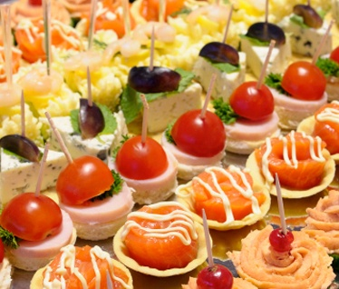 29 best canap s and cocktails images on pinterest for Canape catering services