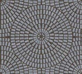 Textures Texture seamless | Cobblestone paving texture seamless 06407 | Textures - ARCHITECTURE - PAVING OUTDOOR - Pavers stone - Cobblestone | Sketchuptexture