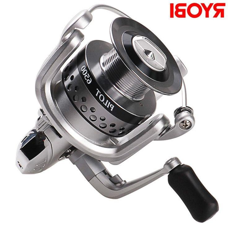 33.76$  Buy now - https://alitems.com/g/1e8d114494b01f4c715516525dc3e8/?i=5&ulp=https%3A%2F%2Fwww.aliexpress.com%2Fitem%2FFree-Shipping-100-RYOBI-Spinning-Fishing-Reels-PILOT1500-6500-Series-6-1BB-For-Carp-Weeve-Feeder%2F32686202895.html - 100% RYOBI 6+1BB Spinning Fishing Reels 1500-6500 Series Moulinet Peche for Carp Weeve Feeder Carretilha Para Pesca Fish Tackle