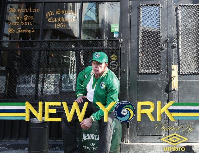 NY Cosmos/Umbro promo - McSorley's, Manhattan