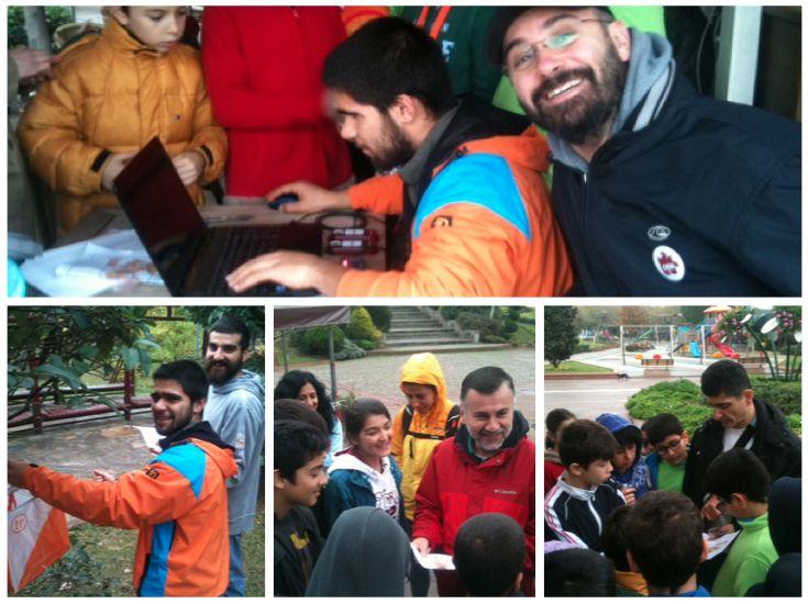 Orienteering sporunun daha fazla kişiye ulaşması için yapılan etkinlikler kapsamında ''Özgurluk Parkı Orienteering Etkinliği'' Daha fazla bilgi için: www.istanbuloryantiring.com