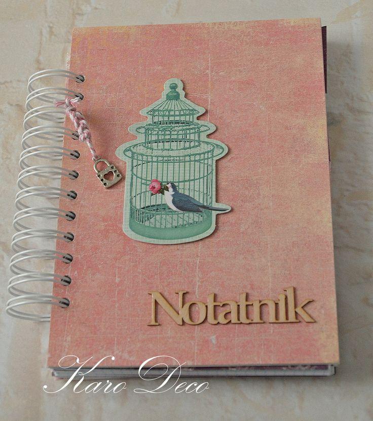 Notatnik / planner tilda