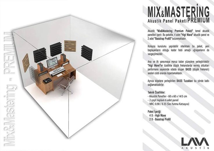 Mix & Mastering Premium Akustik Panel Paketi www.muzikenstrumani.com #lavaakustik #lava #akustik #acoustic #acustic #panel #music #akustikdüzenleme
