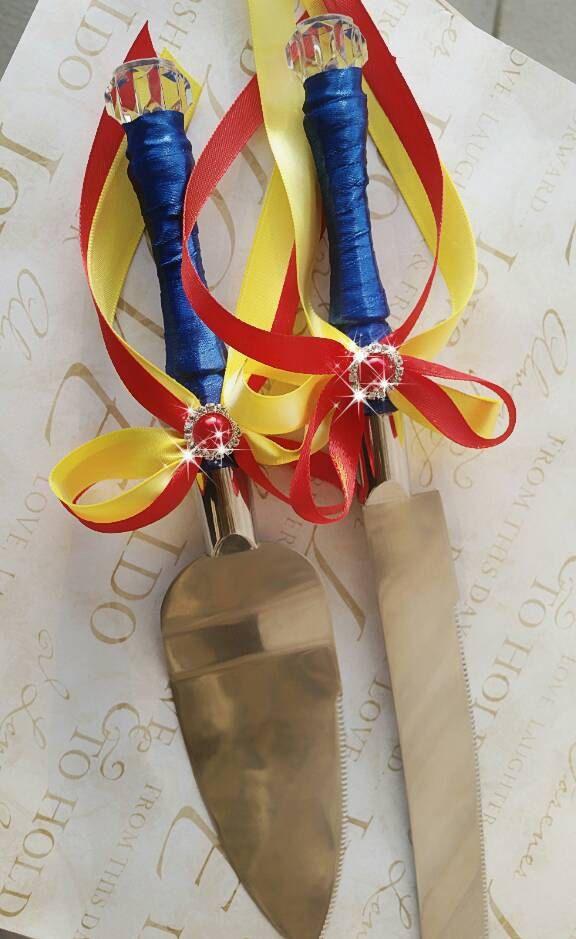 conjunto de pastel cuchillo servidor nieve boda cumpleaños de
