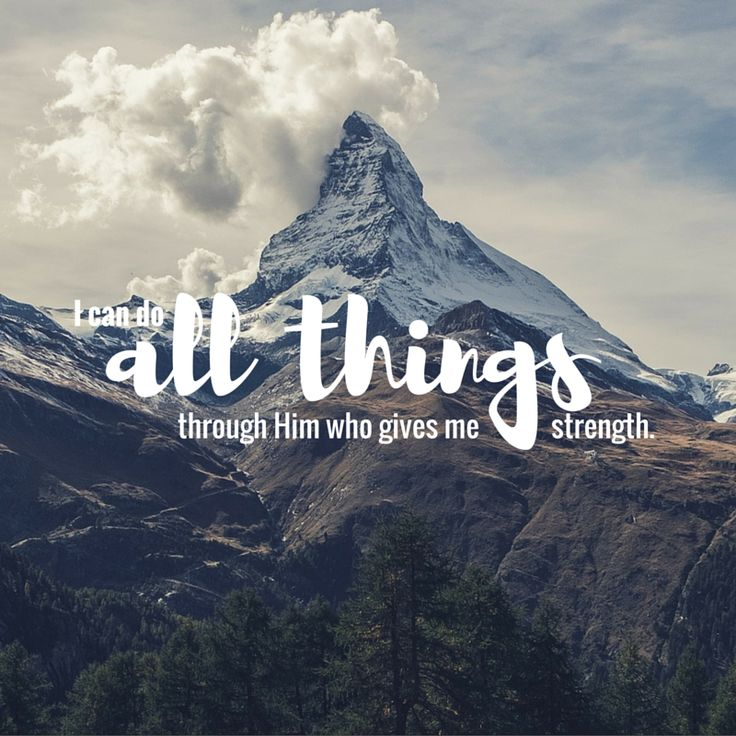 All things here means ANYTHING. But never does the Bible suggest that we can do EVERYTHING. Philippians 4:13.