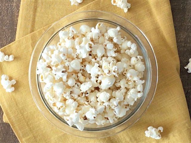 Making popcorn on the stove top is fast, inexpensive, and far more flavorful than the microwave. Get the step by step instructions here.