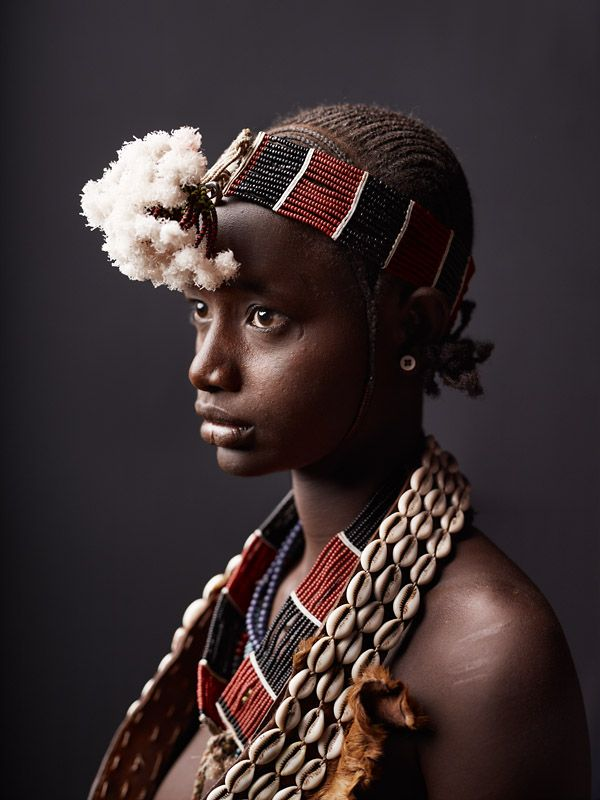 Dina Alada, Hamer tribe, Ethiopia.: Nature Beauty, White Flower, Hamer Tribes, Young Women, Real Beauty, Funky Fashion, Portraits Photography, Gypsy Girls, African Women