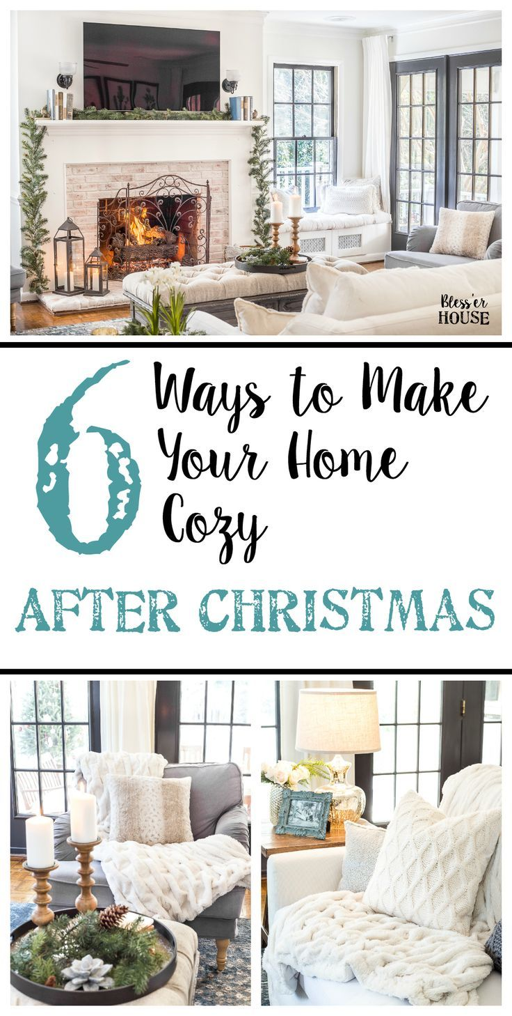 6 ways to make your home cozy after christmas hygge winter months