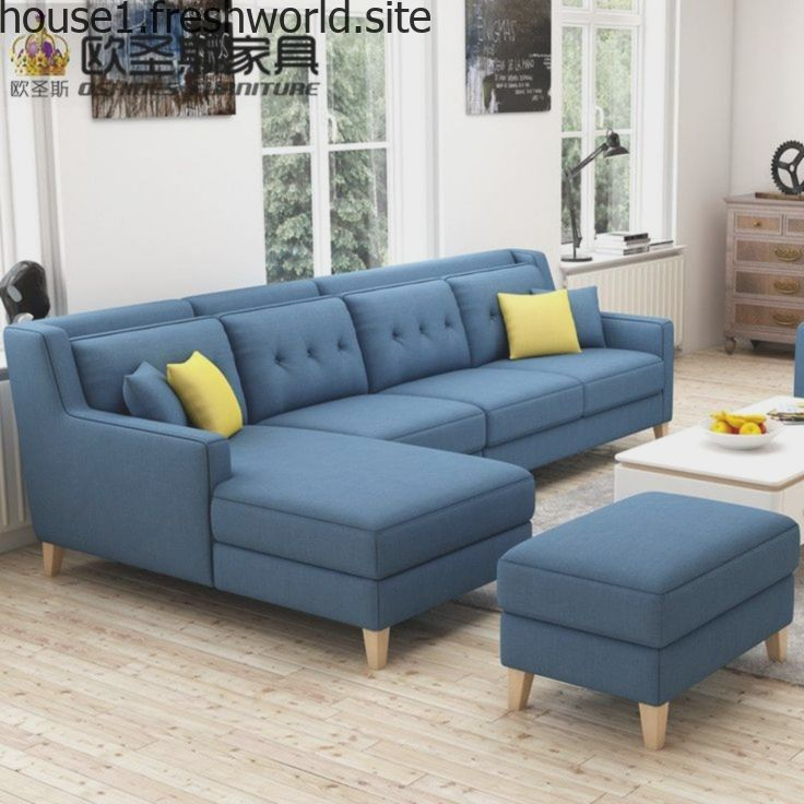 Buy New Arrival American Style Simple Latest Design Sectional L Shaped Corner Li Modern Furniture Living Room Living Room Sofa Set Furniture Sofa Set
