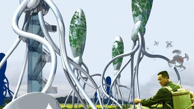 BBC - Future - Science & Environment - The thinking, breathing buildings on the horizon