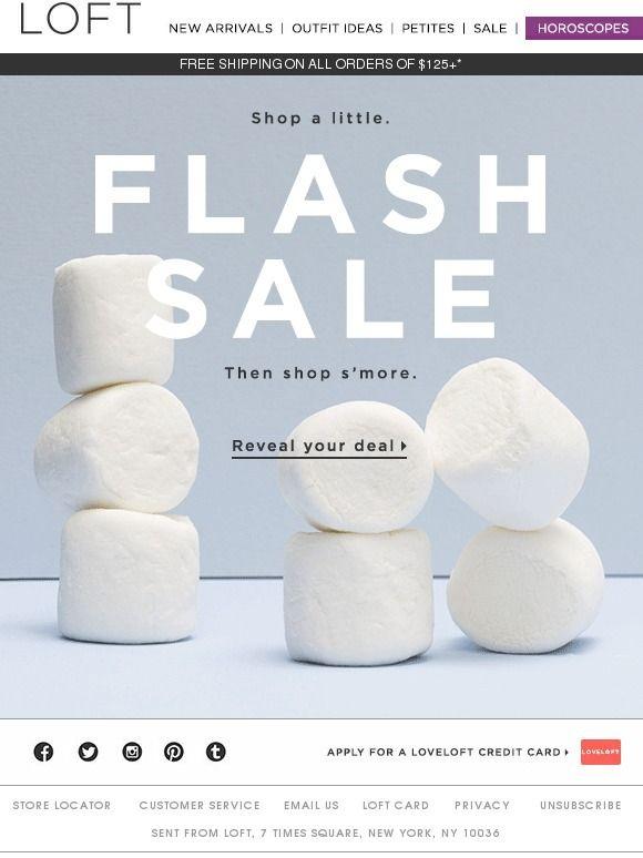 22 best Email Marketing - Flash Sale images on Pinterest Shoes - email marketing resume
