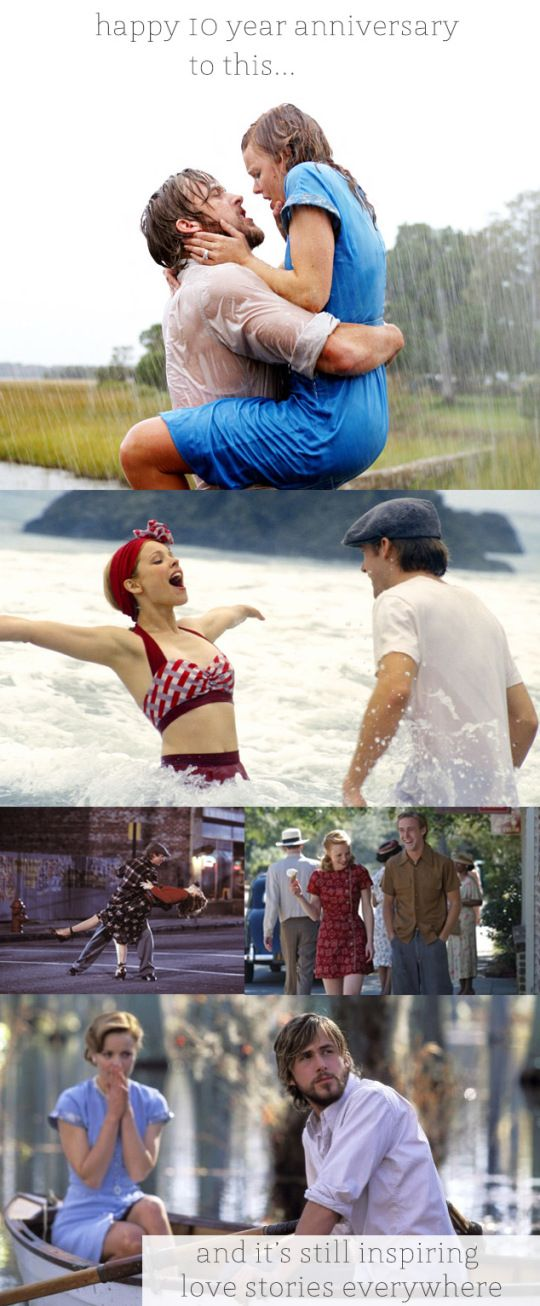 10 year anniversary of The Notebook + wedding inspiration   Oh Lovely Day