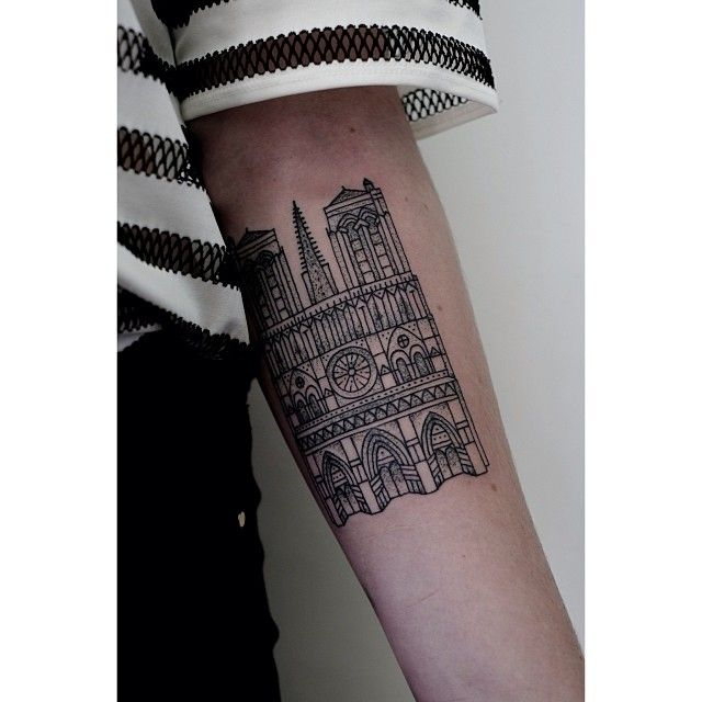 400 best just for me tattoos designs images on pinterest for Notre dame tattoo