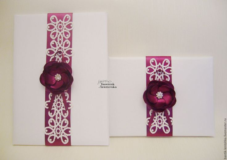 """Купить Книга пожеланий и папка для свидетельства """"Марселла"""" - свадебные аксессуары, свадебные бокалы, свадебные украшения"""