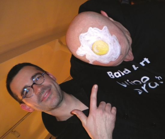 Fried Egg Head