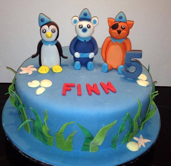 Octonauts / Octanauts Kids Birthday Cake, Noosa Sunshine Coast Cake Shop, Made to Order with Delivery