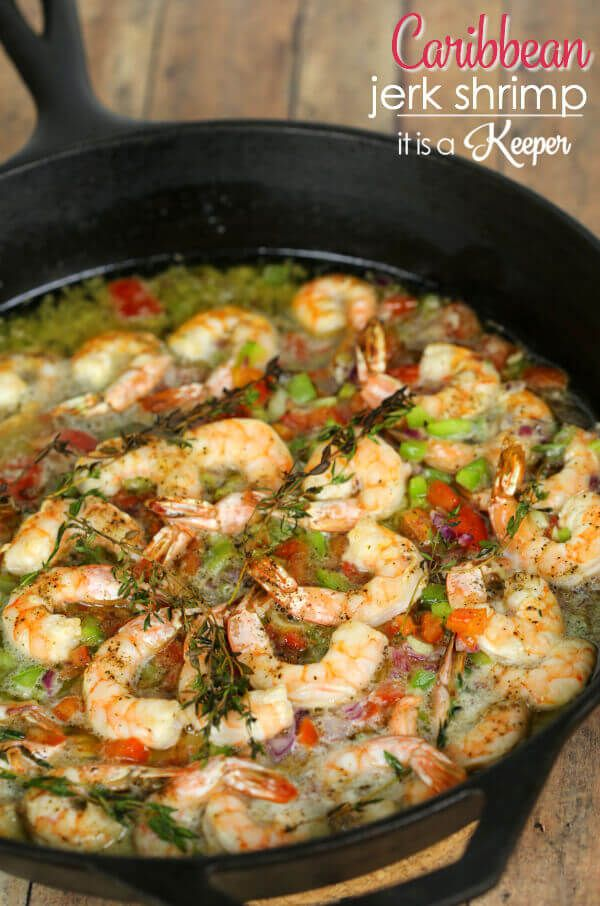 This Caribbean Jerk Shrimp is one of our favorite copy cat Bahama Breeze recipes. It's super easy to make and has the most amazing sauce. A while back my husband and I ate at a Bahama Breeze restaurant for the first time.  As the name implies, the menu is full of tropical items.  I shared …