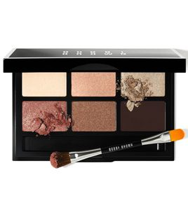 bobbi brown party eye palette - champagne, gold, and copper shades