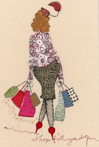'Shop till you drop' by Louise Gardiner