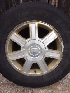 Cadillac Escalade rims and all season tires